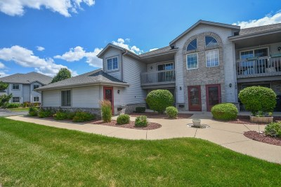 Pewaukee Condo/Townhouse Active Contingent With Offer: 725 Quinlan Dr #A