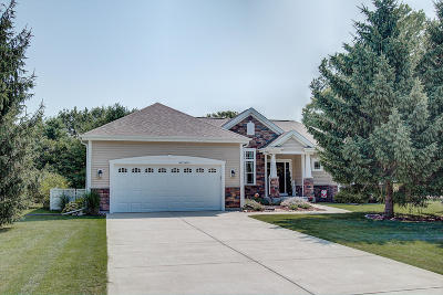 Waukesha Single Family Home For Sale: W272n387 Hilltop Dr