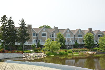 Grafton Condo/Townhouse Active Contingent With Offer: 1232 Water Ter #3
