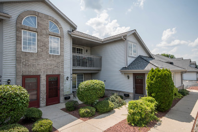 Pewaukee Condo/Townhouse Active Contingent With Offer: 949 Quinlan Dr #F