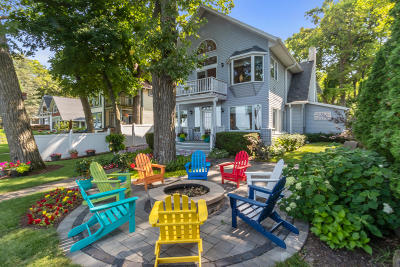 Delavan Single Family Home Active Contingent With Offer: 1923 South Shore Dr