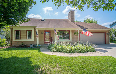 Slinger Single Family Home Active Contingent With Offer: 3944 Elaines Way