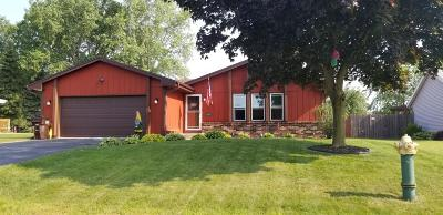 Racine Single Family Home Active Contingent With Offer: 2800 Stonebridge Dr