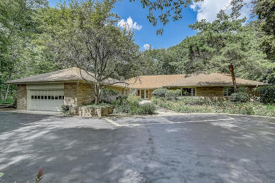 Milwaukee County Single Family Home Active Contingent With Offer: 7300 N Beach Dr