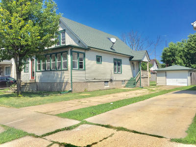 Kenosha Single Family Home Active Contingent With Offer: 4817 18th Ave