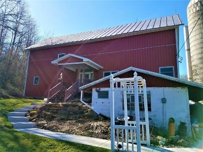 Mindoro Single Family Home For Sale: N7994 Sullivan Rd