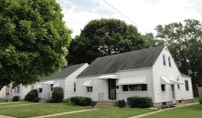 Kenosha Single Family Home Active Contingent With Offer: 2929 72nd St
