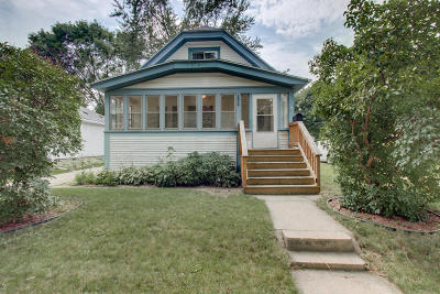 West Allis Single Family Home Active Contingent With Offer: 1927 S 95th St