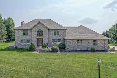 Pleasant Prairie WI Single Family Home For Sale: $639,900