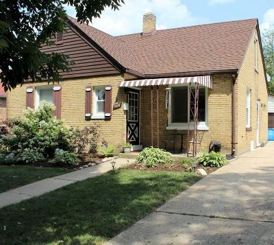 Kenosha Single Family Home Active Contingent With Offer: 6531 42nd Ave
