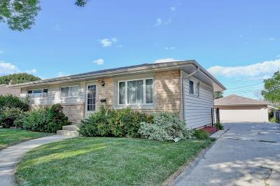 West Allis Single Family Home Active Contingent With Offer: 2866 S 103rd St