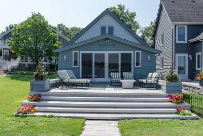 Pewaukee Single Family Home Active Contingent With Offer: 315 Park Ave