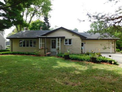 Cedarburg Single Family Home Active Contingent With Offer: N22w6343 Fairfield St