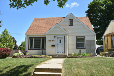 West Allis Single Family Home Active Contingent With Offer: 2002 S 93rd St