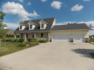 Pleasant Prairie WI Single Family Home For Sale: $499,900