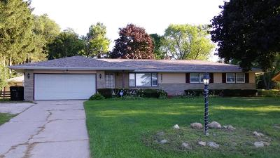 Milwaukee Single Family Home Active Contingent With Offer: 6597 W County Line Rd