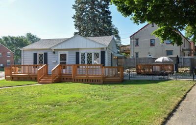 Single Family Home Active Contingent With Offer: 2801 E Rhode Island Ave