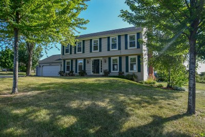 Mukwonago Single Family Home For Sale: W295s7880 High Cross Dr