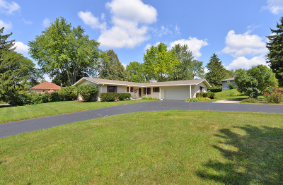 Waukesha Single Family Home Active Contingent With Offer: 20700 Bowling Green Dr