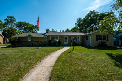 West Bend Single Family Home Active Contingent With Offer: 1009 Sunset Dr