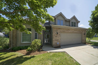 Waukesha Single Family Home Active Contingent With Offer: 2609 Wensley Ct