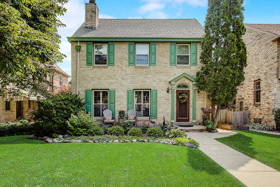 Shorewood Single Family Home Active Contingent With Offer: 4452 N Ardmore Ave