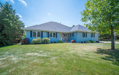Racine County Single Family Home Active Contingent With Offer: 4734 Lookout Ln