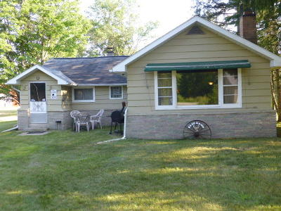 Marinette County Single Family Home For Sale: W6881 County Rd X