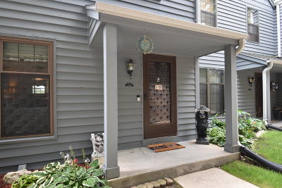 Pewaukee Condo/Townhouse Active Contingent With Offer: 353 Lexington Ct #G