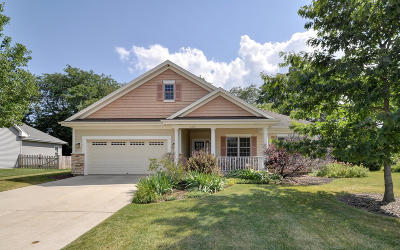 Racine County Single Family Home Active Contingent With Offer: 6557 Spring Meadow Ln