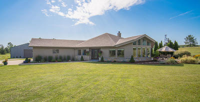 Slinger Single Family Home For Sale: 3902 Hillside Rd