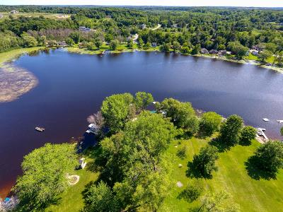 Richfield, Hubertus Single Family Home For Sale: 3545 N Shore Dr