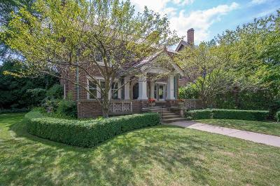 Milwaukee Single Family Home Active Contingent With Offer: 2221 E Newberry Blvd