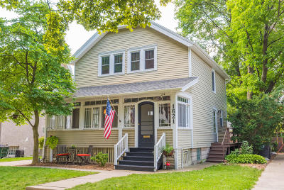 Wauwatosa Single Family Home Active Contingent With Offer: 1621 N 69th St