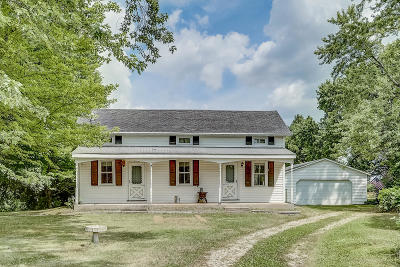 Mukwonago Single Family Home Active Contingent With Offer: 8919 Caldwell Rd