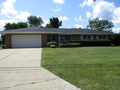 Greenfield Single Family Home For Sale: 5605 W Cold Spring Rd