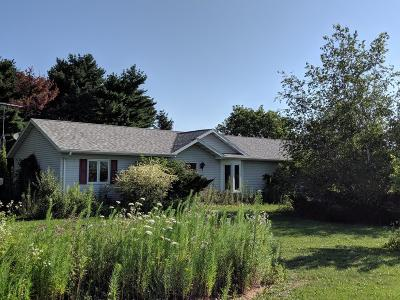 Plymouth Single Family Home Active Contingent With Offer: N4196 W County Road A