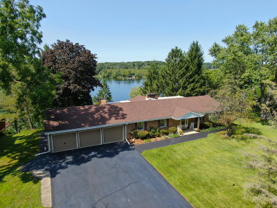 East Troy Single Family Home For Sale: W1950 Pastime Ln