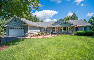 Richfield, Hubertus Single Family Home Active Contingent With Offer: 1542 Scenic Rd