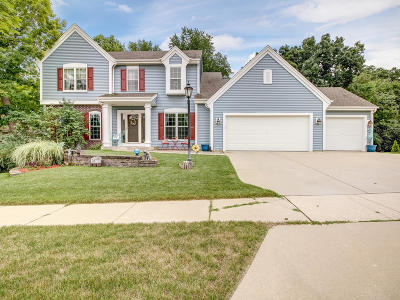 Waukesha Single Family Home Active Contingent With Offer: 947 River Park Dr