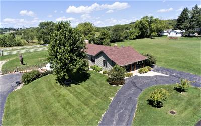 Lake Geneva Single Family Home For Sale: W3140 Krueger Rd