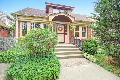 Single Family Home Active Contingent With Offer: 5936 W Wells St