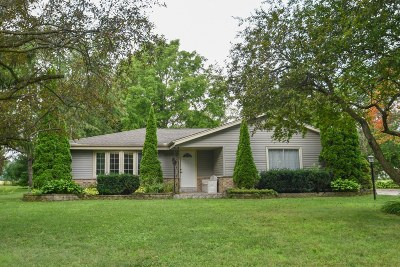 Oconomowoc Single Family Home Active Contingent With Offer: N71w35715 Mapleton Lake Dr