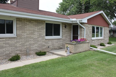 Kewaskum Single Family Home For Sale: N156 County Road S