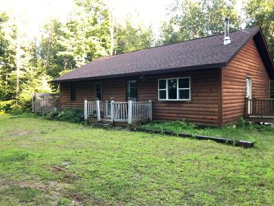 Single Family Home For Sale: W15837 Cty Rd C