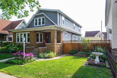 Single Family Home Active Contingent With Offer: 2432 S Howell Ave