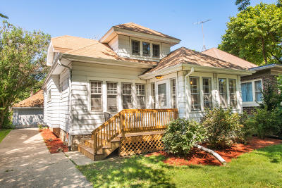 Milwaukee Single Family Home For Sale: 1551 N 59th St