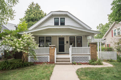 Wauwatosa Single Family Home For Sale: 8218 W Gridley Ave