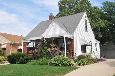 West Allis Single Family Home For Sale: 2168 S 98th St
