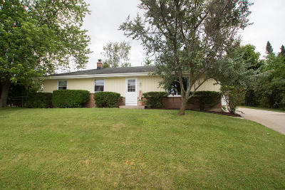 West Bend Single Family Home Active Contingent With Offer: 1241 Roosevelt Dr